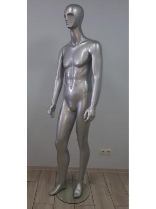 Манекен мужской K23-22 серебро