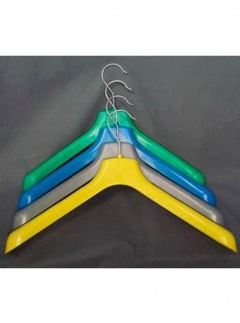 Плечики цветные широкие для верхней одежды ВОП 38/5 микс