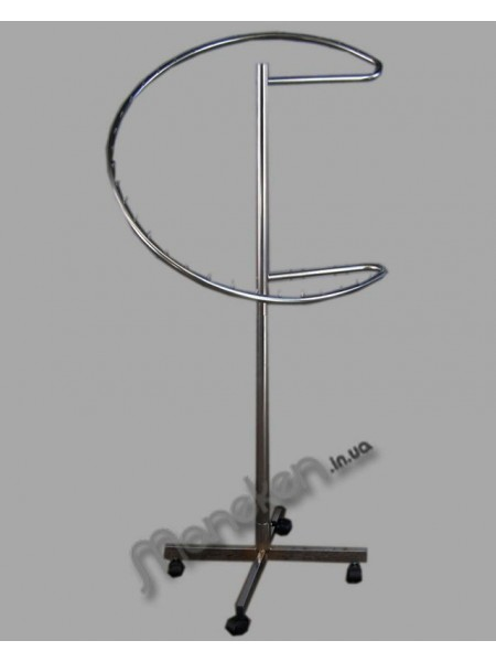 Стойка спиральная хром (Турция)