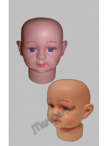 Манекен голова младенца