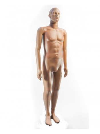 Манекен мужской Сенсей телесный без подставки