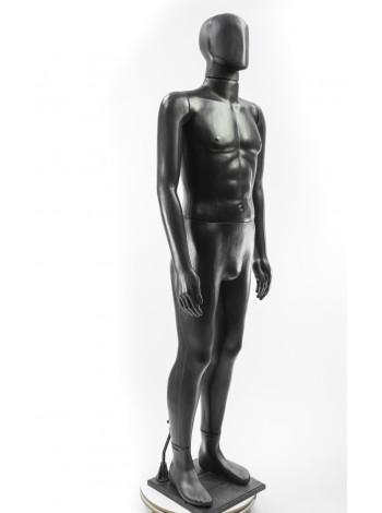 Сенсей черный аватар на подставке