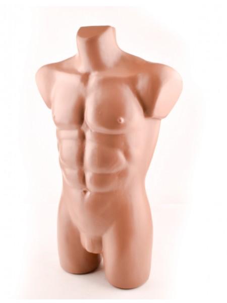 Манекен мужской торс Давид телесный