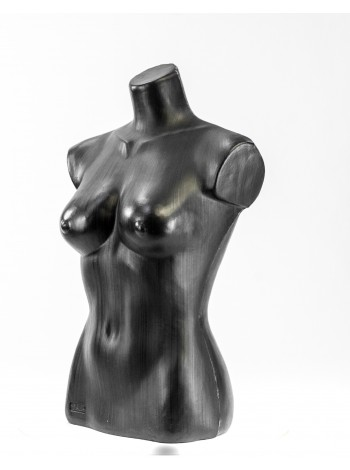 Манекен женский торс Маша черный