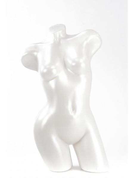 Манекен Венера изогнутая белый жемчуг