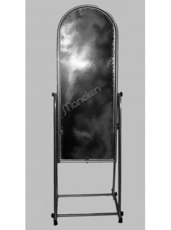 Зеркало М напольное металлик