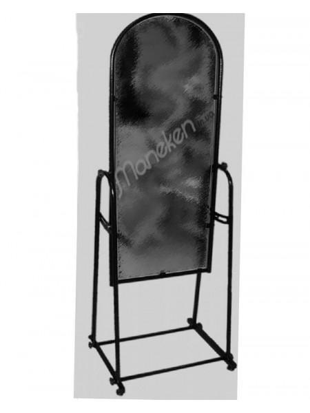 Зеркало М 38см черное